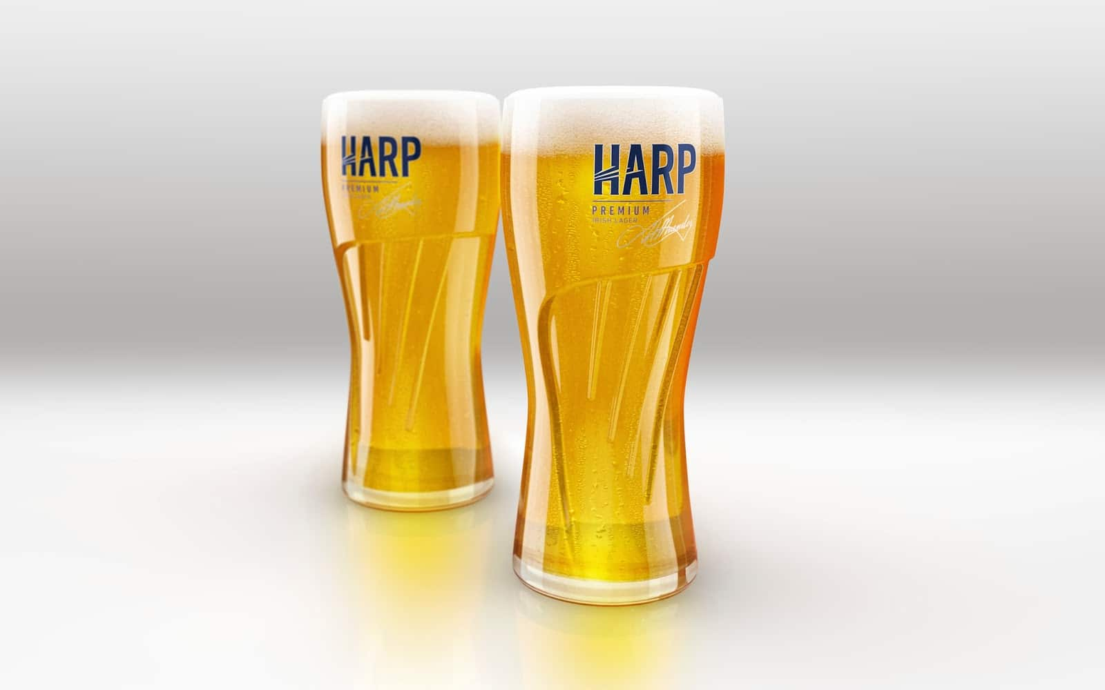 harp irish beer