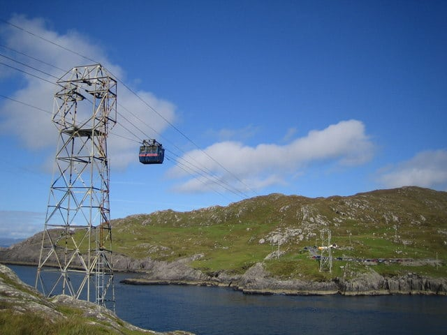 The only cable car in Ireland is here