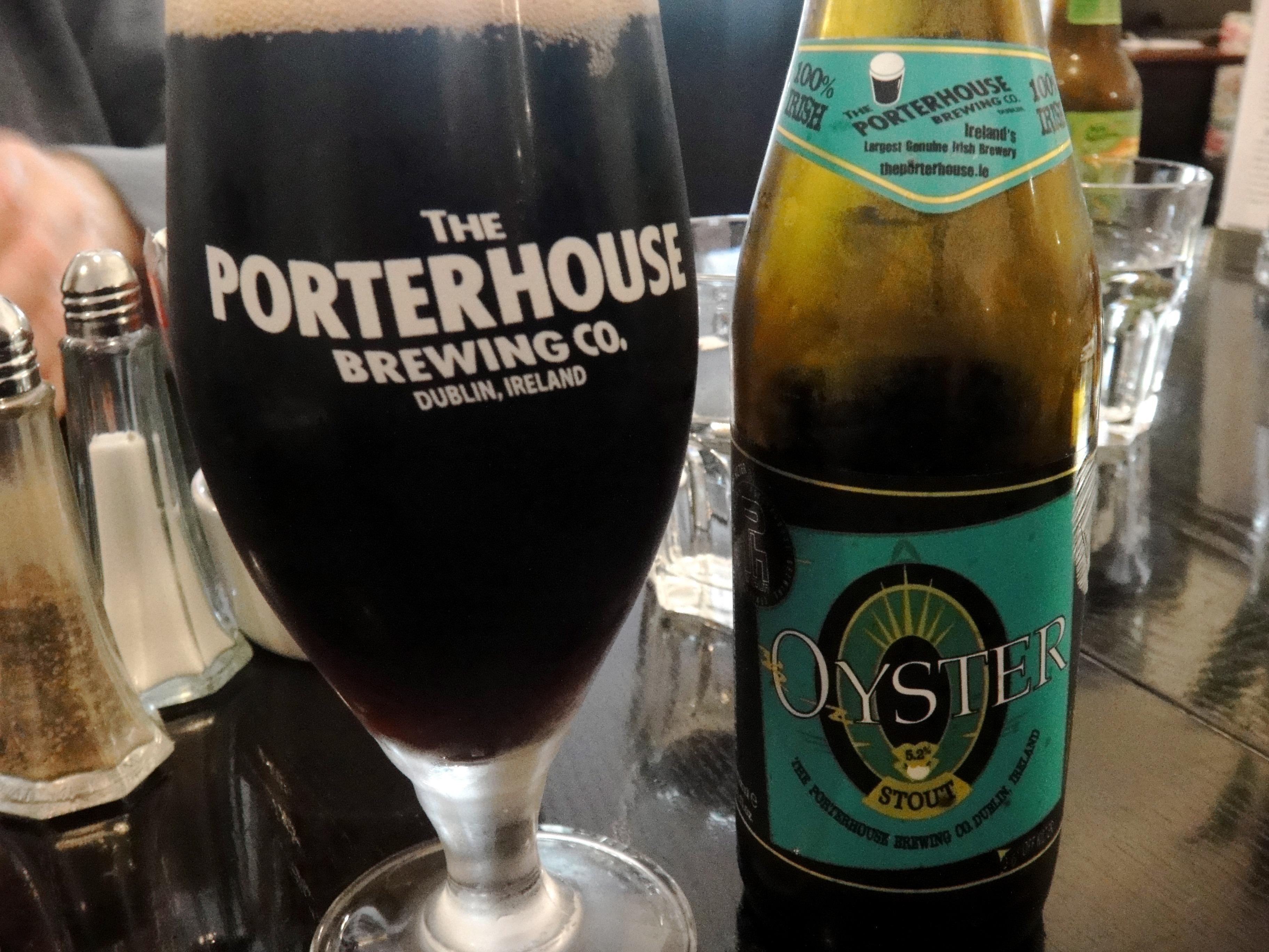 porterhouse stout irish beer