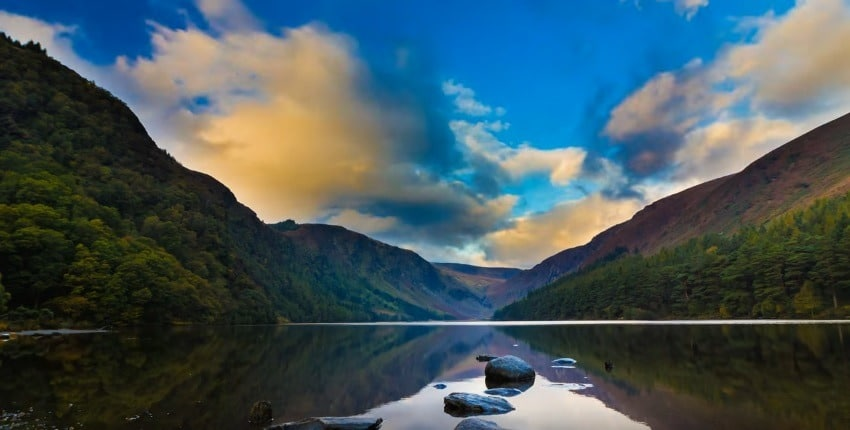 fantastic time-lapse through Co Wicklow, also known as the garden of Ireland.