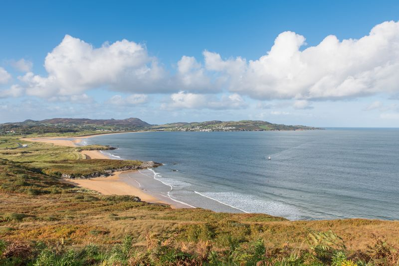 Looking another of the most beautiful beaches in Donegal, check out Ballymastocker Beach.