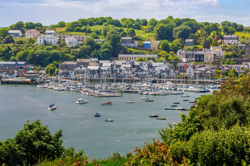 Another of the best towns to visit in Ireland is Kinsale, a foodie's paradise.