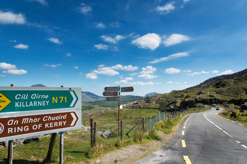 You can't miss the Ring of Kerry.