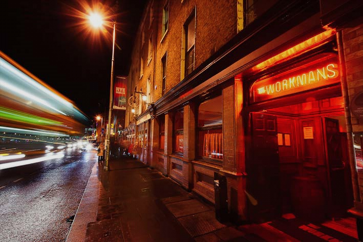 The Workman's Club is a great late-night venue in the capital of Ireland