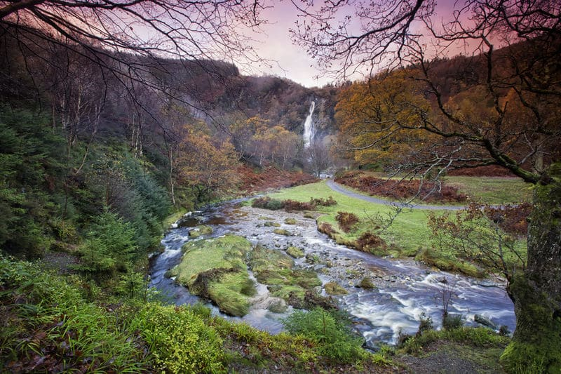 Powerscourt Waterfall is one of the 10 best things to do in south-east Ireland.