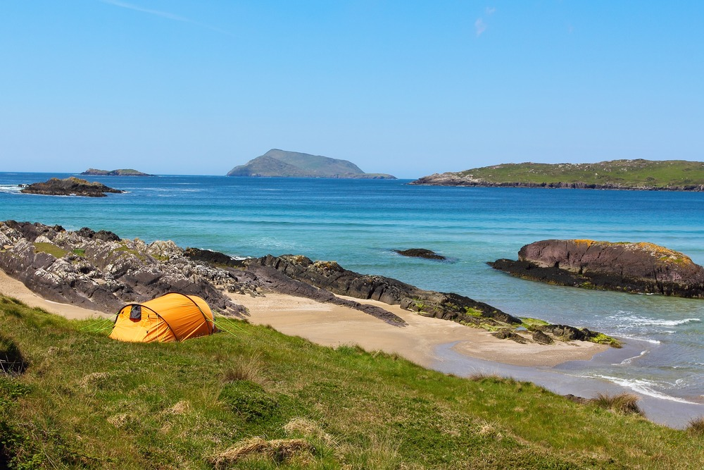 Camping is one of the top 10 outdoor activities in Ireland