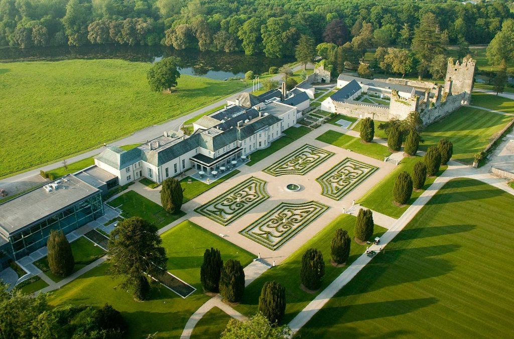 Castlemartyr Resort is one of the ten snazziest hotels in Ireland