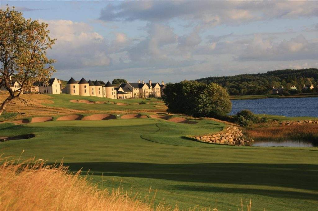 Lough Erne Resort is located in Enniskillen