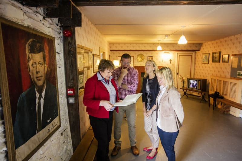 Why not learn about the Kennedys, one of the best things to do in County Wexford.