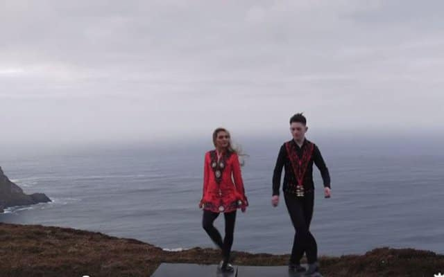 Epic video of Irish dancing in Donegal is going viral.
