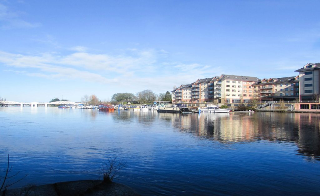 Athlone is another of the best towns to stay in Ireland, thanks to its quaint atmosphere.