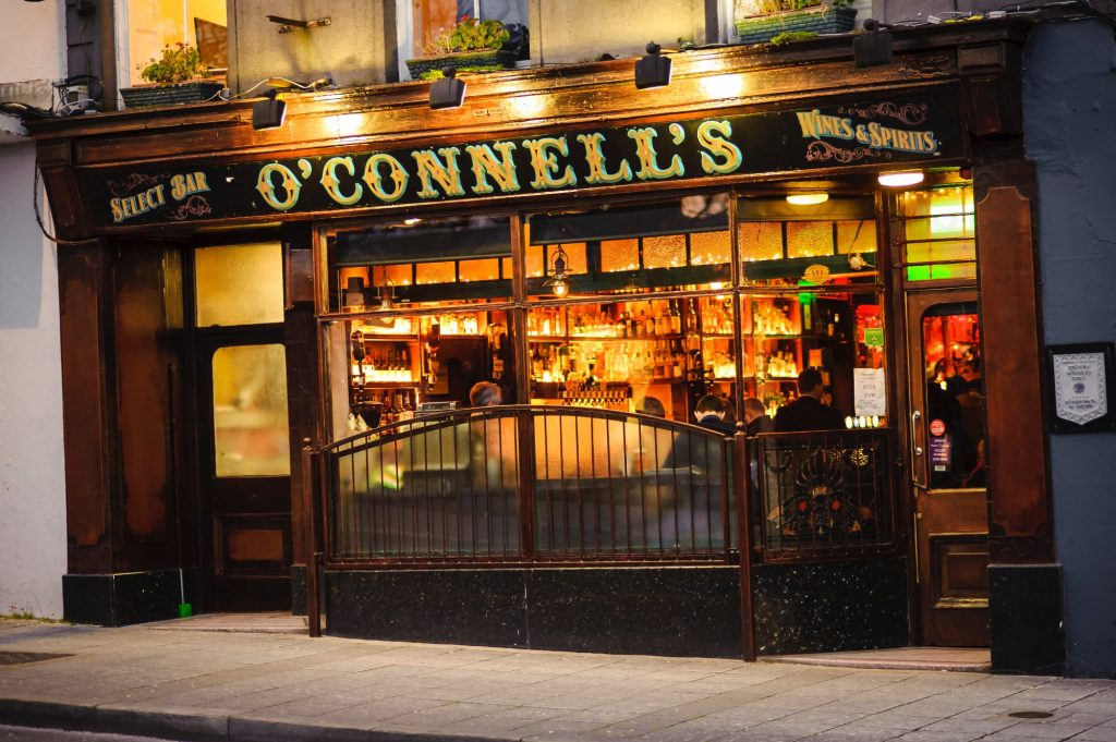 Looking for your Guinness fix in Ireland then check out O'Connell's for the creamiest pints possible.