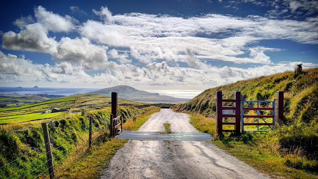 Valentia Island is a beautiful stop during an Irish road trip