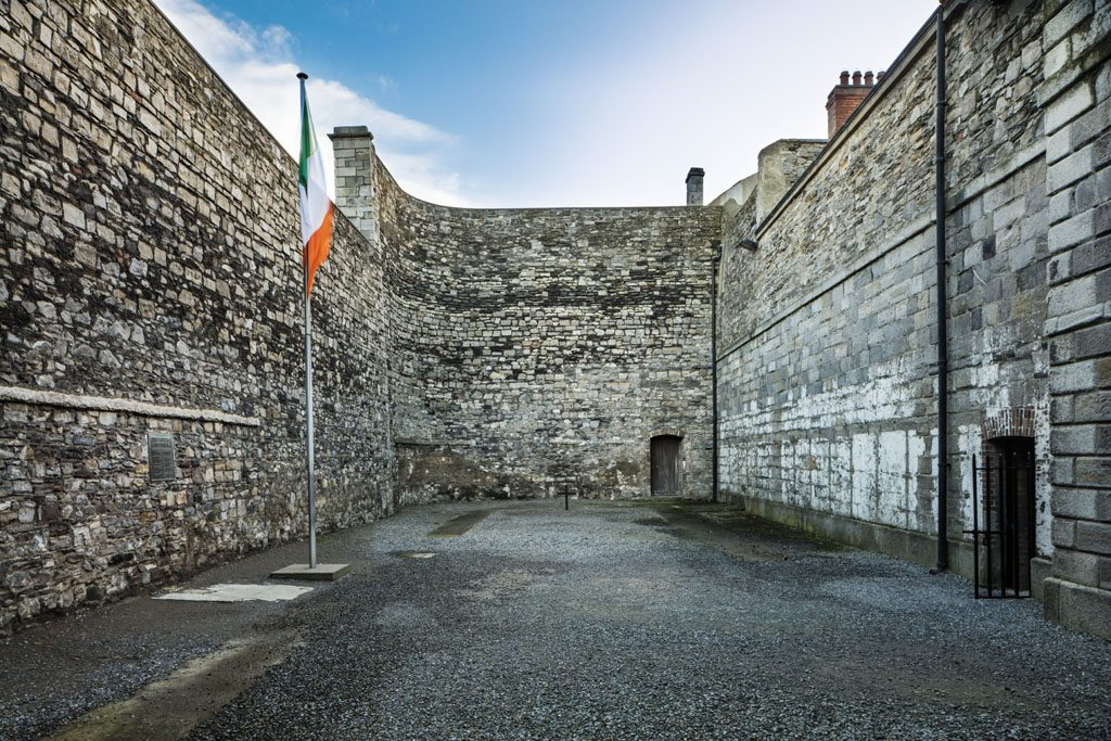 Kilmainham Gaol in Dublin is one of the most famous filming locations in Ireland.