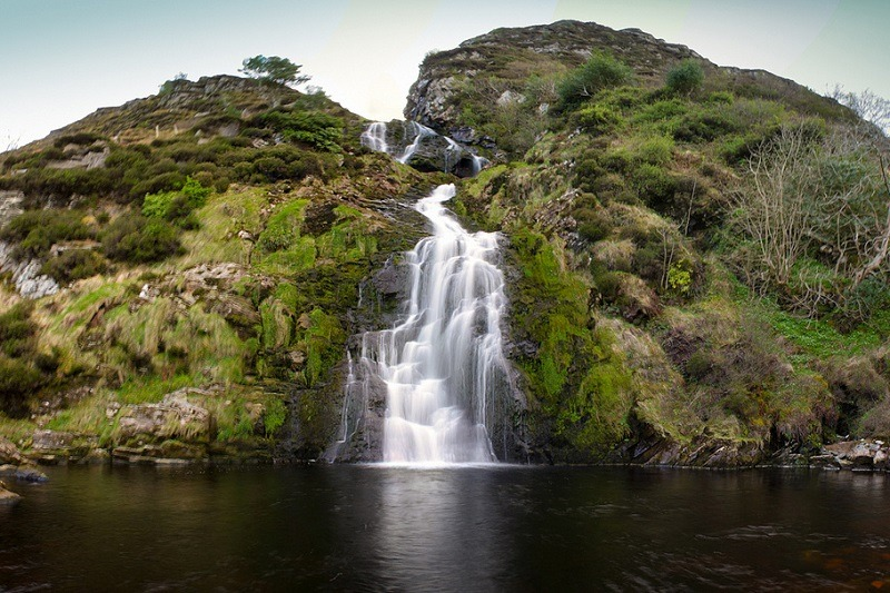Assaranca is another of our top picks for most beautiful waterfalls in Ireland.