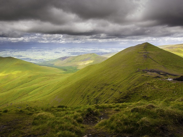 Galtymore Mountain is not for the faint-hearted and offers some amazing views.