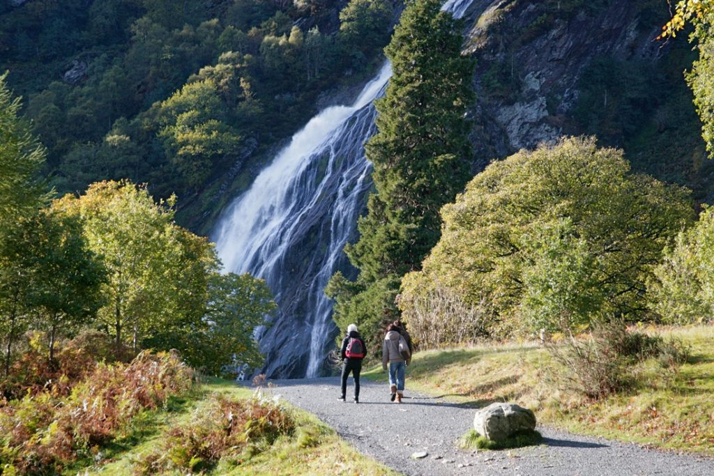 Powerscourt Waterfall is truly one of the most beautiful waterfalls in Ireland.