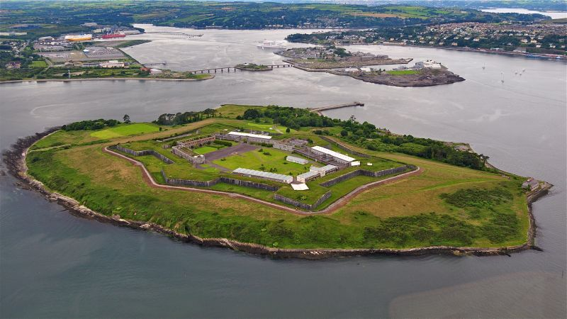 Spike Island, Irelands Alcatraz, is another of the best things to do in Ireland.