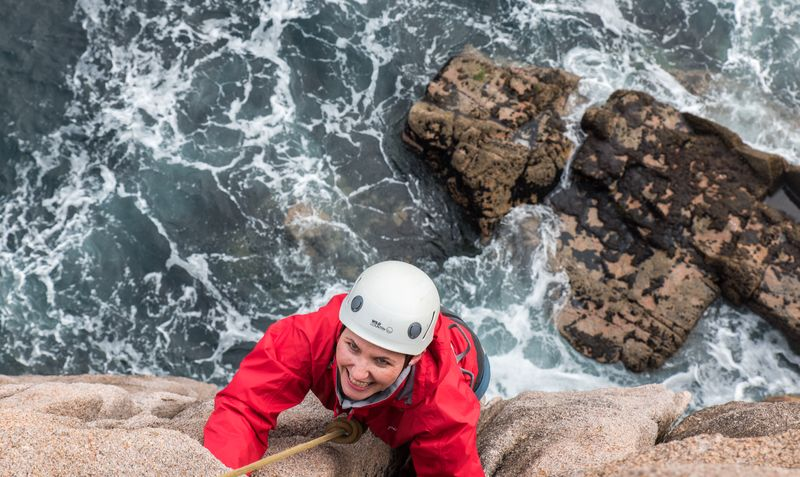 Abseiling is one of the top 10 outdoor activities in Ireland
