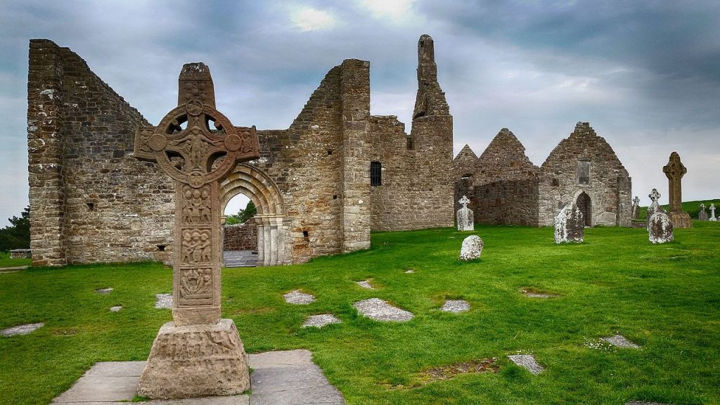 Clonmacnoise is one of the most fascinating historical places in Ireland.