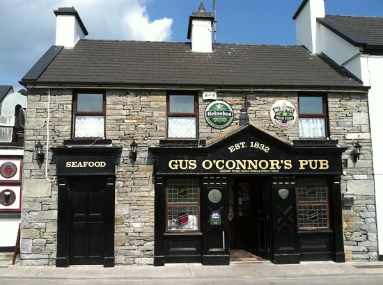 Gus O'Connor's is a must visit.