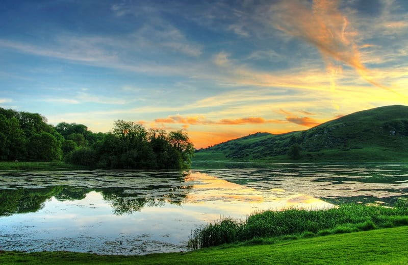 Lough Gur is an iconic archaeological site and another of the best things to do in Limerick.