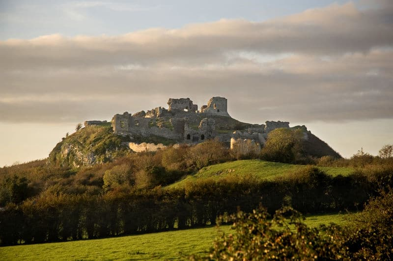 Leap Year filming locations in Ireland include the Rock of Dunamase