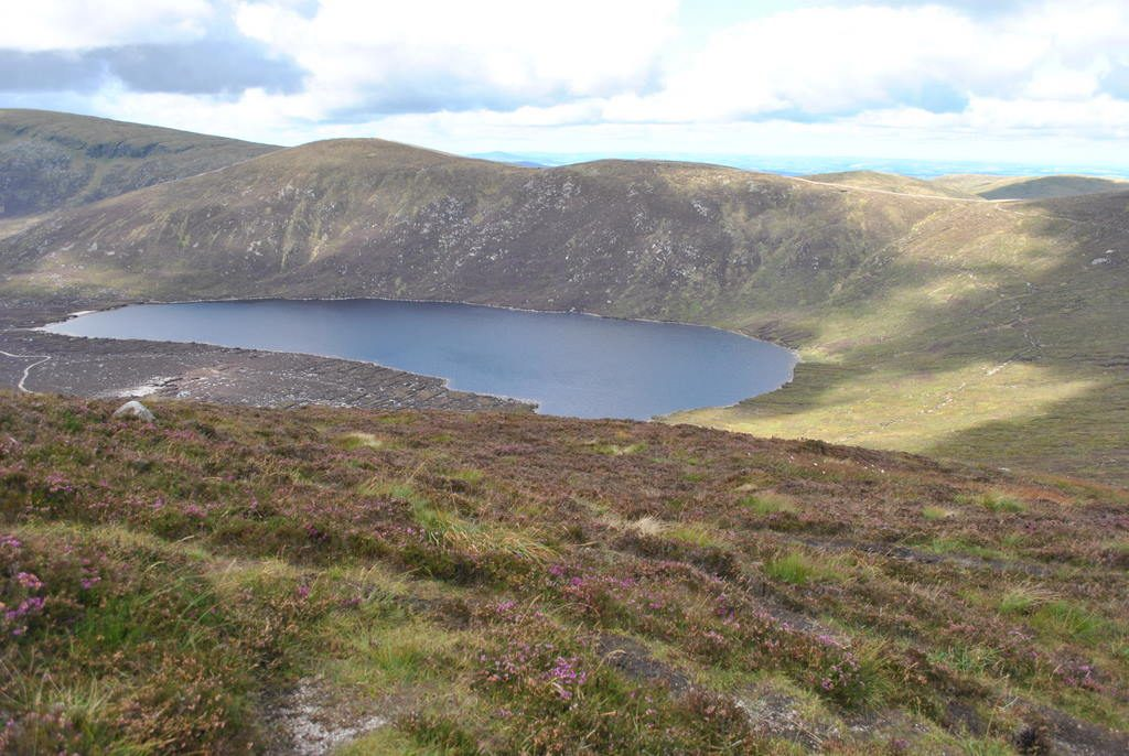 Lough Shannagh is one of 5 incredible hikes and walks in scenic County Down