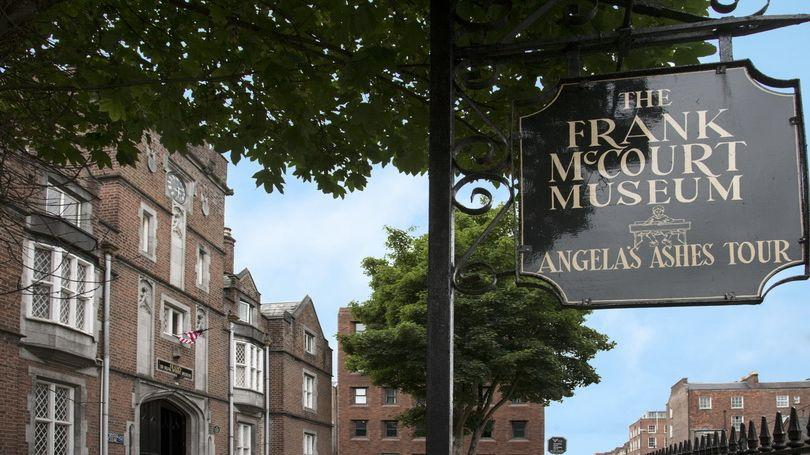 The Frank McCourt Museum is one of 5 literary spots in Ireland honouring Irish writers