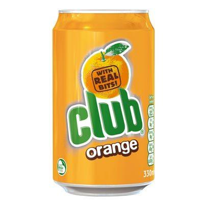 Club Orange is a delicious favourite Irish drink
