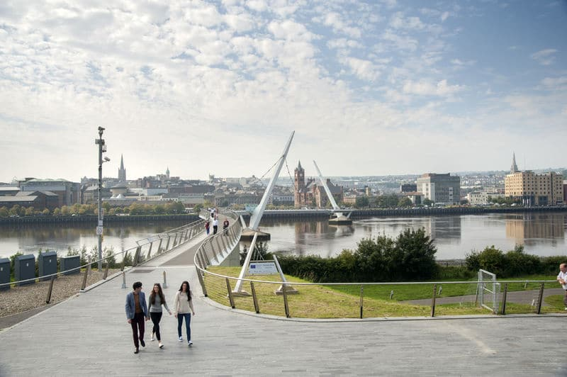 Another of the best things to do in Derry is visit the Peace Bridge.