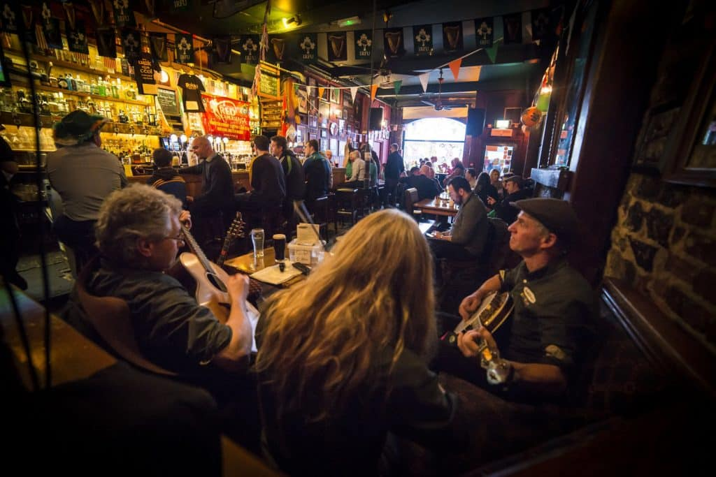 Dolan's is home to great traditional music, and is one of the best pubs in Limerick.