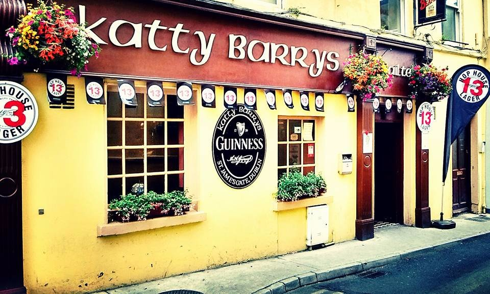10 pubs and bars in Waterford you need to visit before you die include Katty Barry's