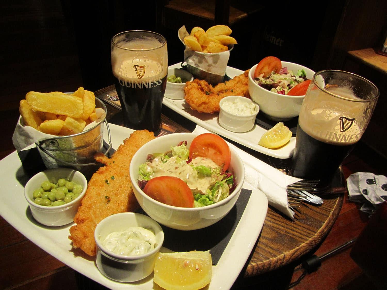 food irish drink most things