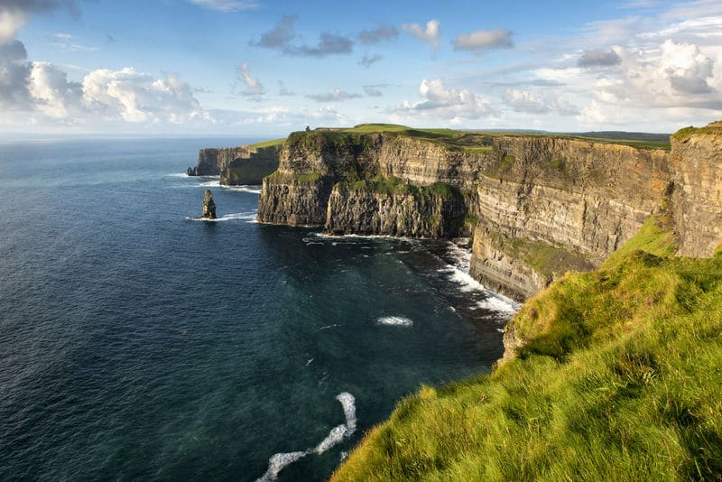 The Cliffs of Moher is one of the top places in Ireland you need to visit before you are 40, be sure it's on your bucket-list.