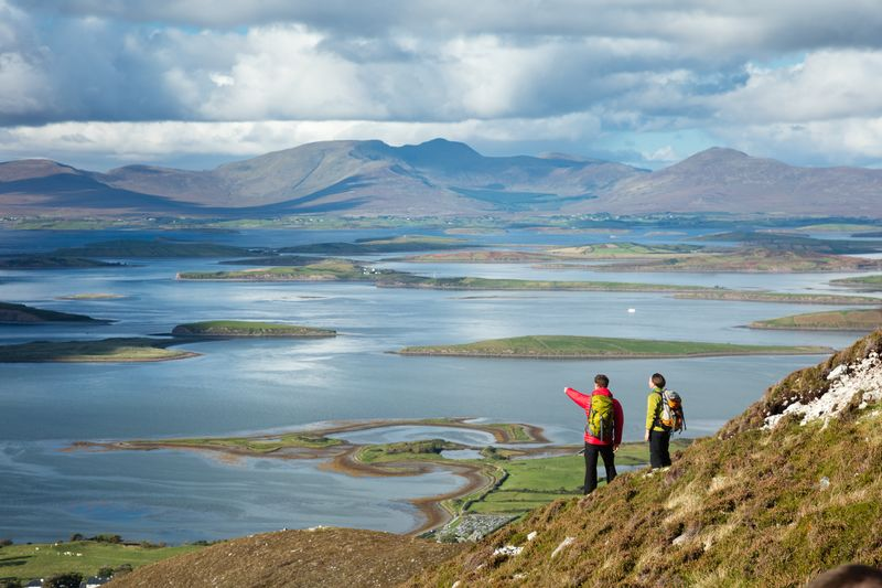 The legendary Croagh Patrick is here – follow in St. Patrick's footsteps