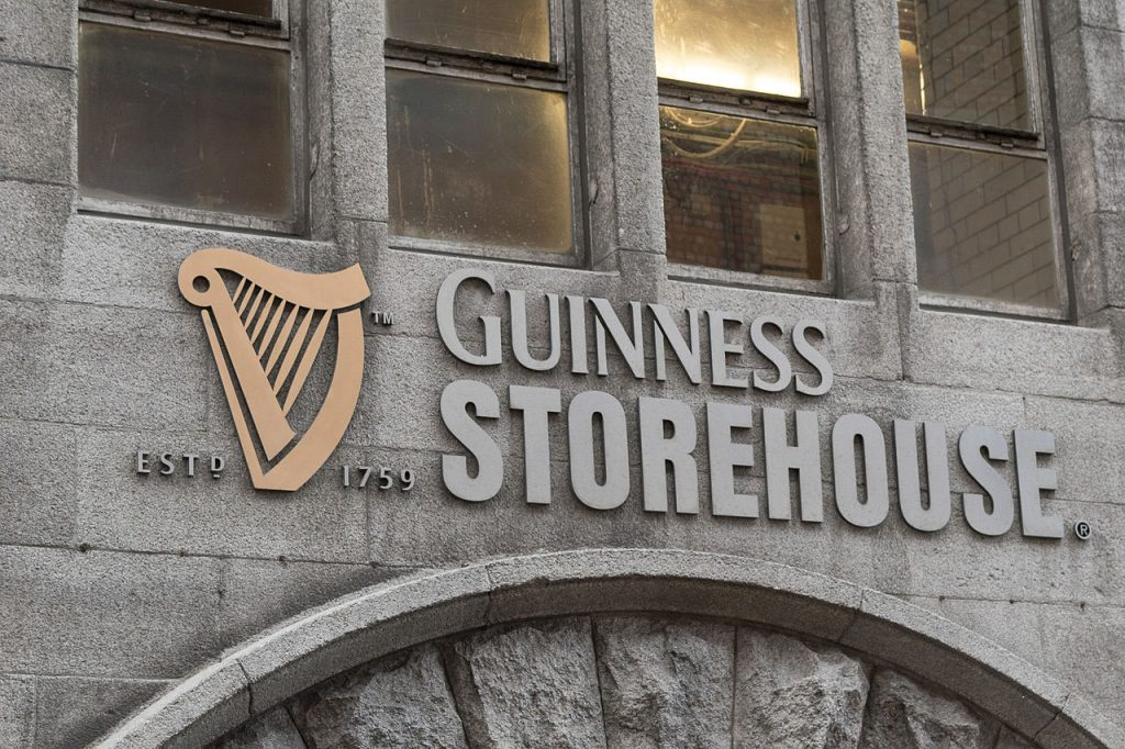 The Guinness Storehouse is another of the top places to visit in Ireland.