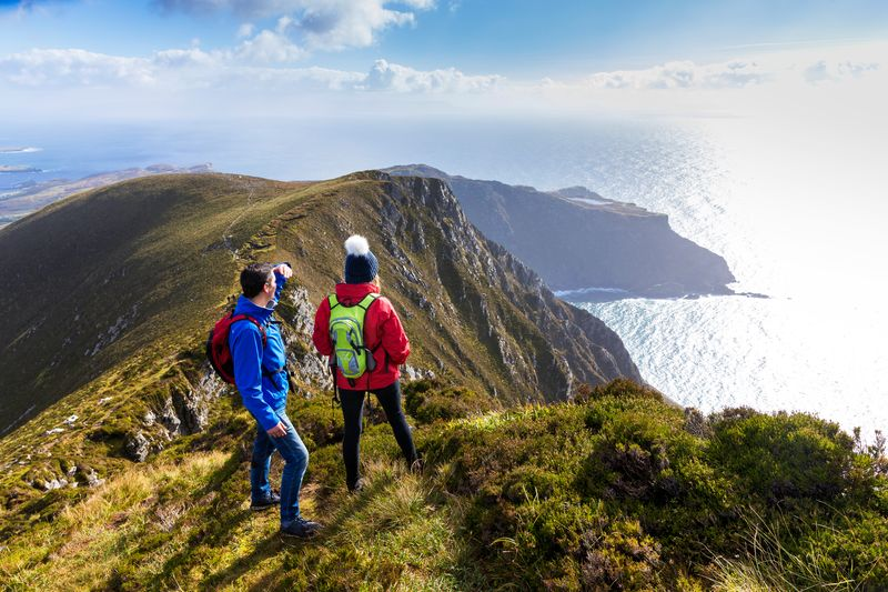 Give the Slieve League Cliffs a visit, one of the best things to do in Donegal.