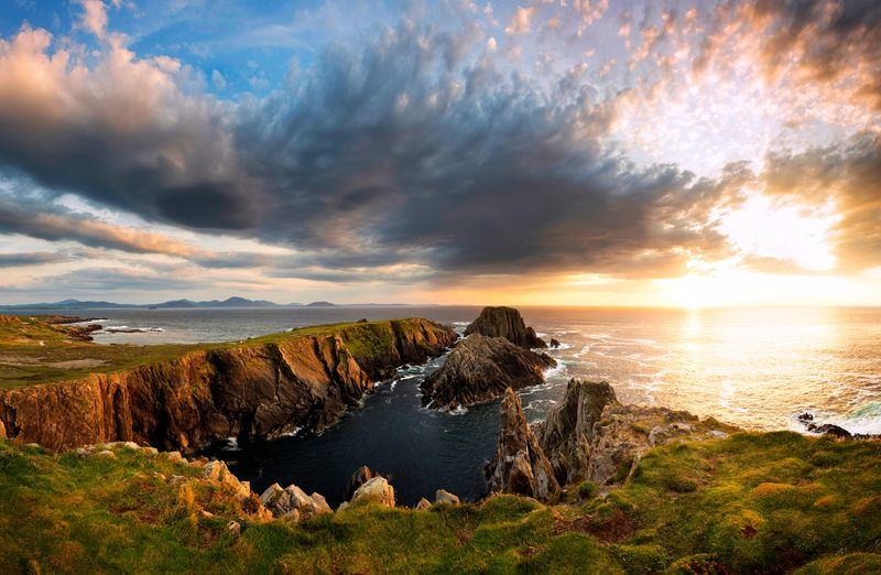 Malin Head is Ireland's most northerly point, a beautiful place to visit.