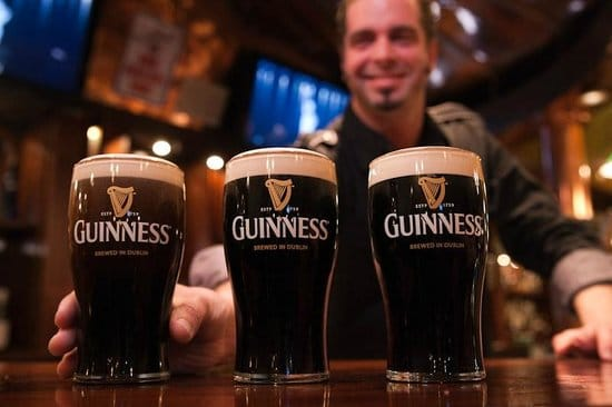 The Guinness factory is a an iIish joke that'll win over any crowd.