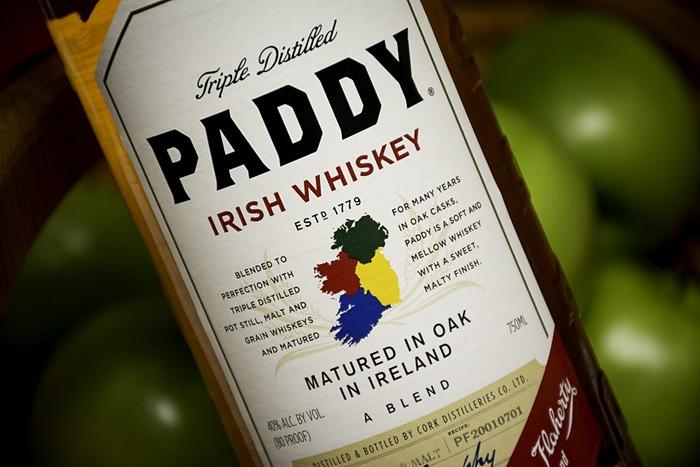 One of the best Irish whiskey in Ireland is Paddy Irish Whiskey.