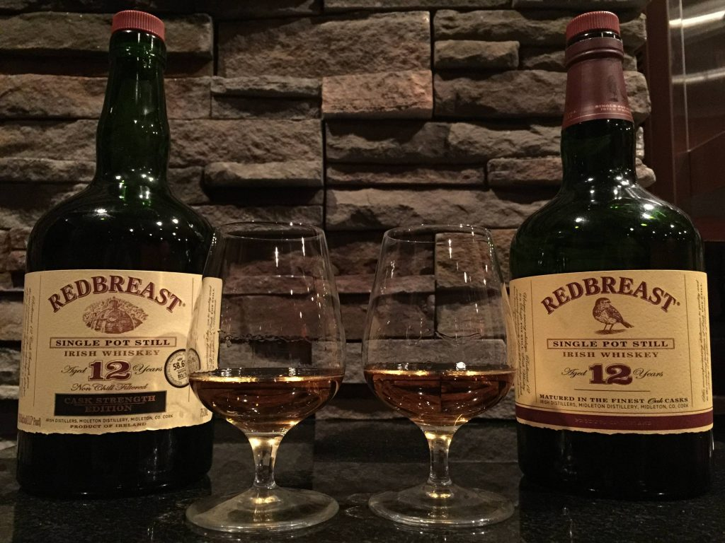 Another of the best Irish whiskeys is Redbreast 12 Year Old whiskey.
