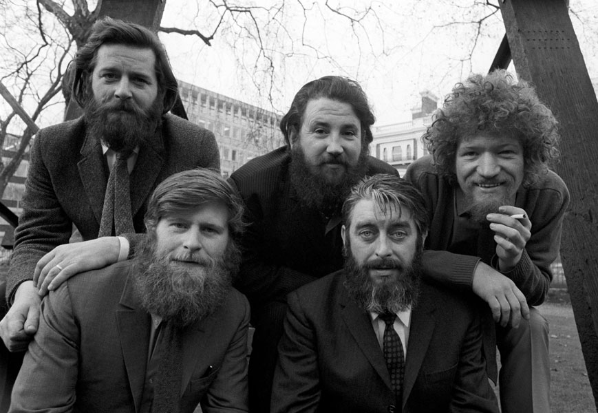 The Dubliners are one of the most popular Irish bands ever.