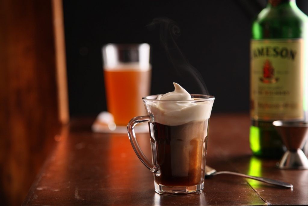 Irish coffee should always be on offer at bars in Ireland