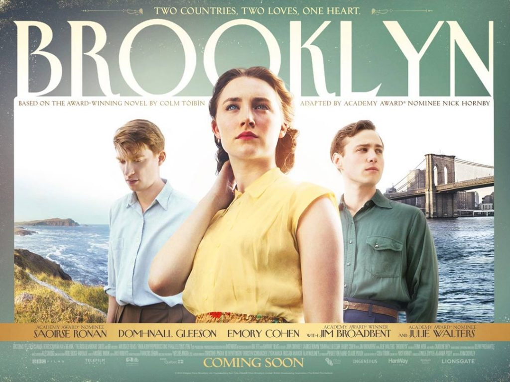 Brooklyn is one of the best romantic movies set in Ireland to watch this Valentine's Day