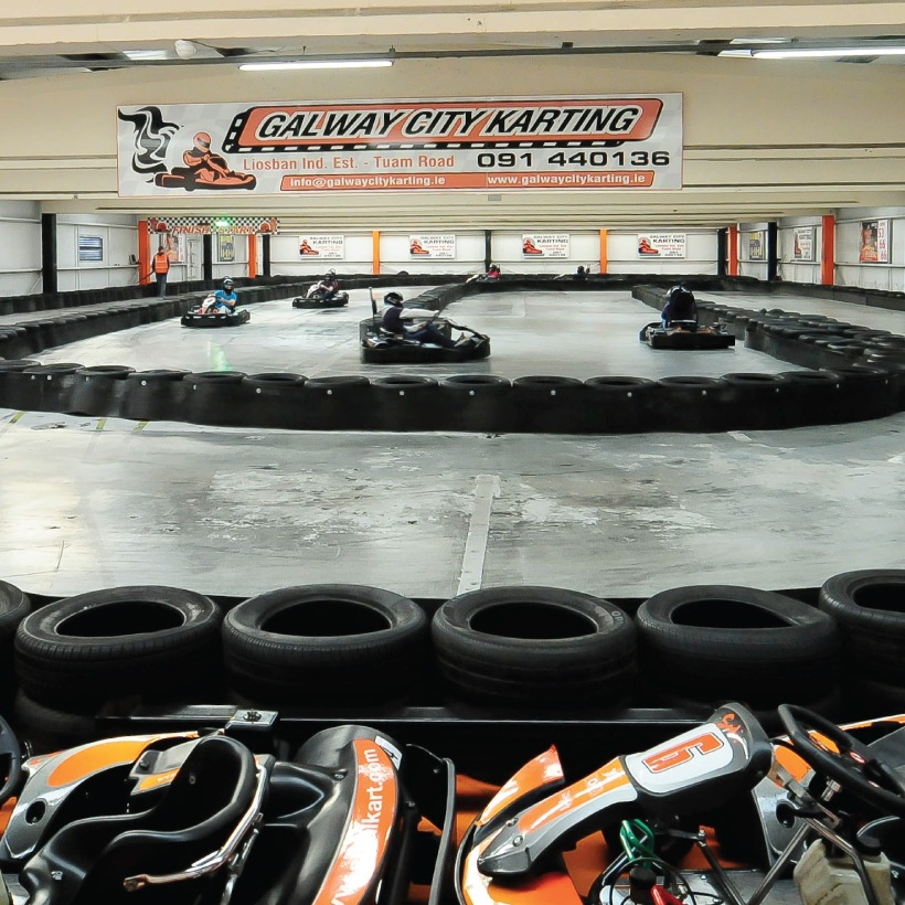 Karting is a memorable experience to be had in Ireland for under €100