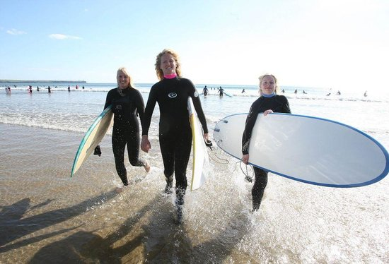 Surfing is a popular sport on the Emerald Isle
