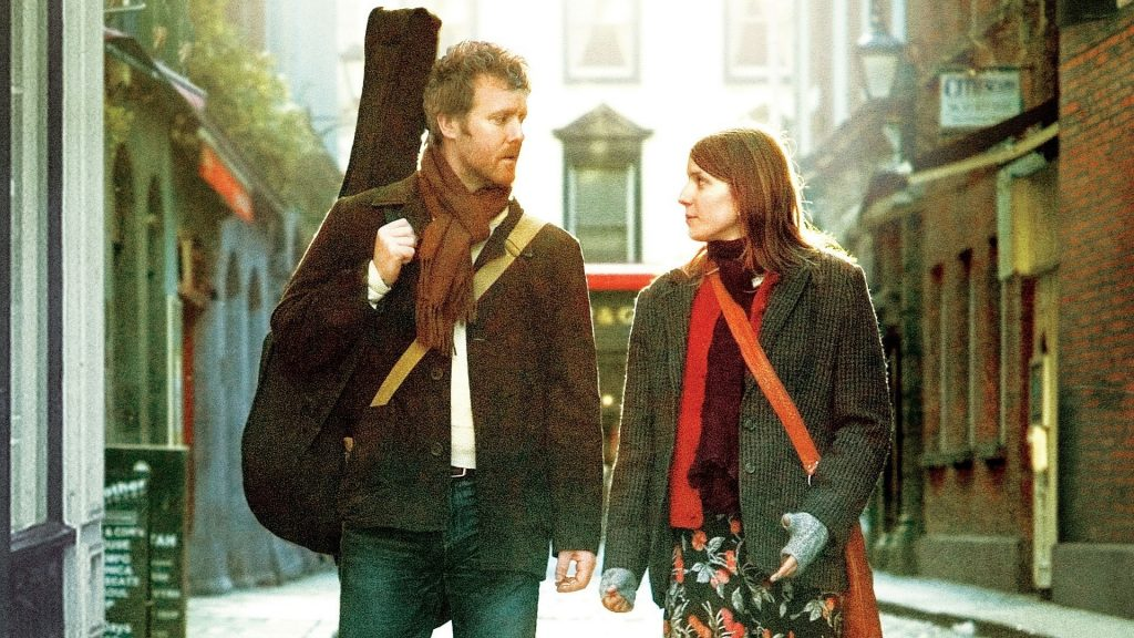 Once is one of the Academy Award winning Irish movies.