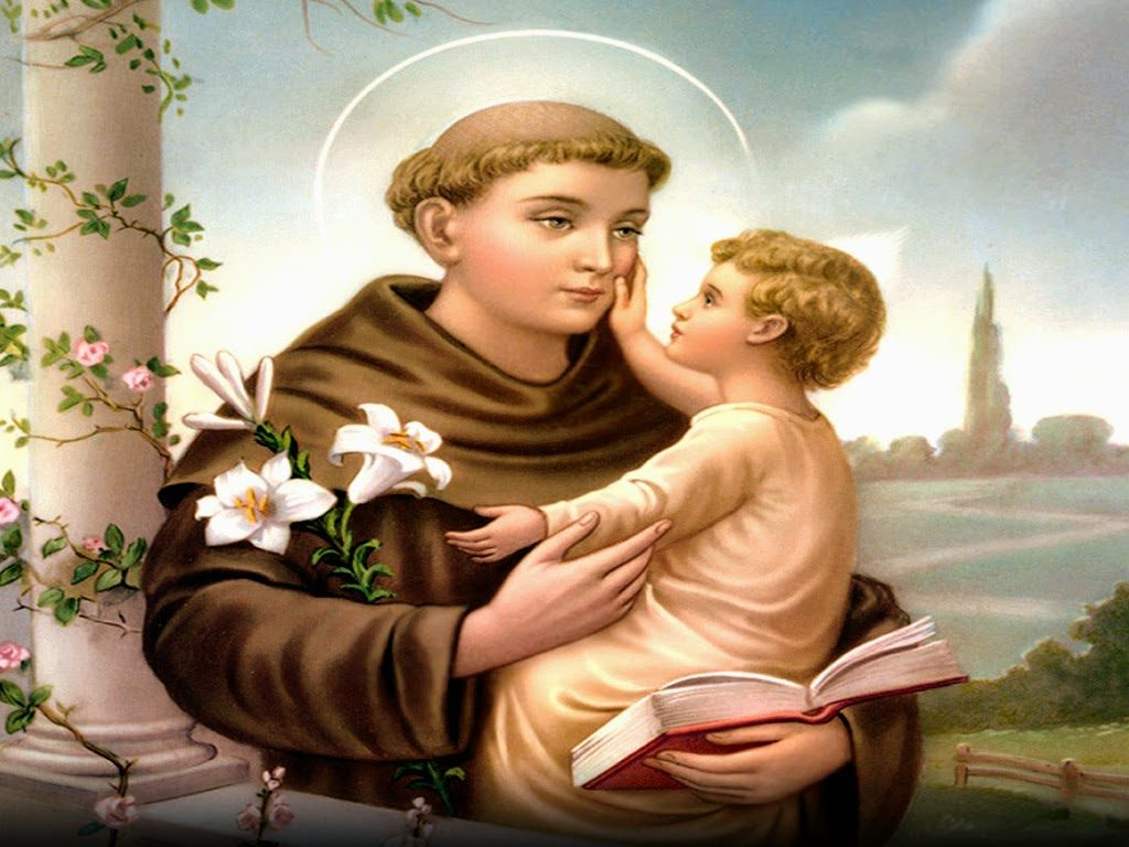 You know you're Irish if you pray to St. Anthony