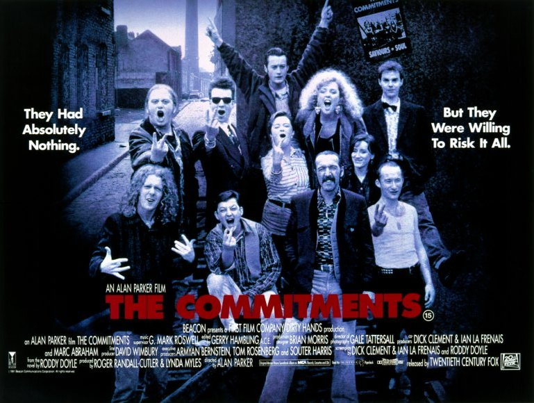 The Commitments is a great musical comedy-drama film.